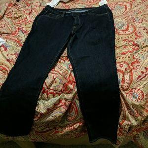 Jeans - plus short